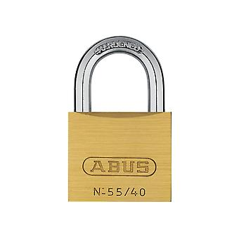ABUS 55/40mm Brass Padlock Carded ABU5540C