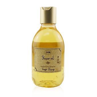 שמן מקלחת sabon-ג'ינג'ר תפוז (בקבוק פלסטיק) 300ml/10.5 עוז