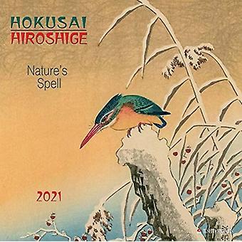 HOKUSAIHIROSHIGE NATURE 2021 by Utagawa Ando Hiroshige & Katsushika Hokusai