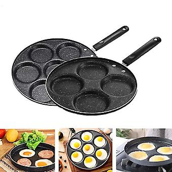 Non Stick Four/seven Holes Frying Pan With Bakelite Handle Used For Making Egg Pancake