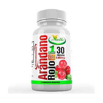Red cranberry 30 capsules