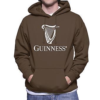Guinness Classic Harp Logo Men's Hooded Sweatshirt