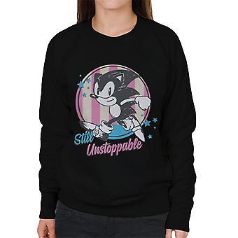 Sonic The Hedgehog Still Unstoppable Pastels Women's Sweatshirt