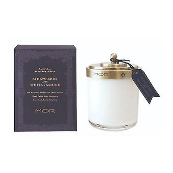 Mor Fragrant Candle 380G Strawberry And White Jasmine