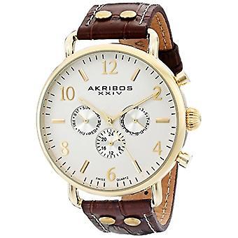 Akribos XXIV Clock Man Ref. AK752BR, INC.