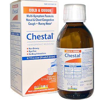 Boiron, Chestal, Cold & Cough, 6.7 fl oz (200 ml)