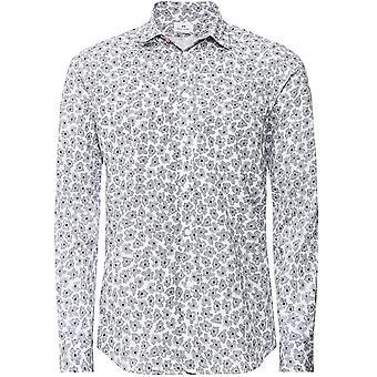 Paul Smith Slim Fit Abstrakt Blommig skjorta