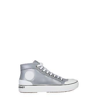 Stella Mccartney 800246kf0248106 Mujeres y apos;s Poliéster Gris Hi Top Sneakers
