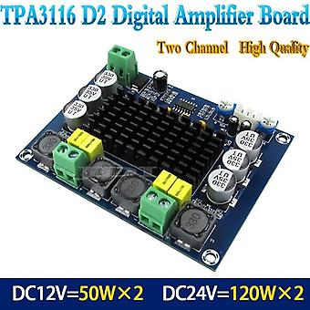High Power Dual-channel Stereo Digital Audio Power Amplifier Board 2*120w
