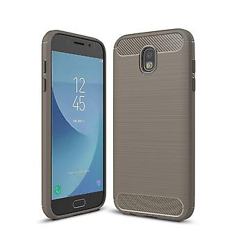 Shell Protection for Samsung Galaxy J7 (2017) J730 | Grey Shock Resistant TPU
