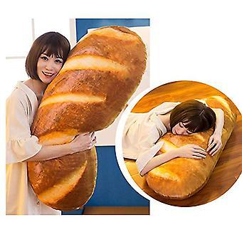 3d Plush Pillow Cushion Soft Stuffed Backrest Birthday- Simulated Snack Bread