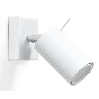 1 Light Wall Spotlight White, GU10