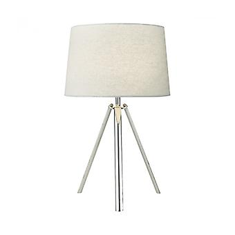 Griffith Polished Chrome 1-light Table Lamp
