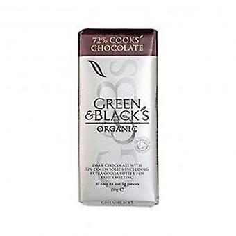 Green & Blacks - Organic DARK Cooking Chocolate 150g