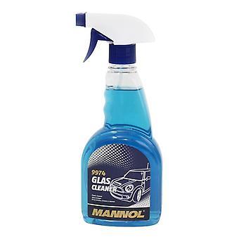500ml Mannol Glass Cleaner Car Window Mirror Trigger Spray Smear Free