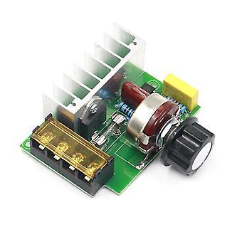 4000w, 220v-ac Voltage Regulator , Dimmer Thermostat Electric Motor Controller