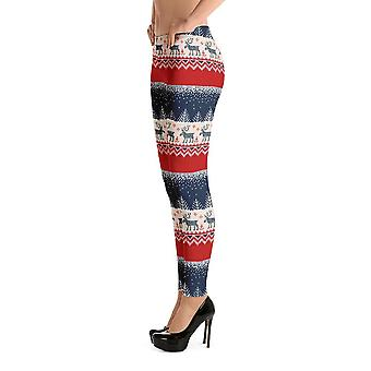 Leggings de moda | série de natal #9 | Vermelho