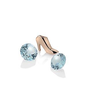 Anais diamantes calientes Anais plata tobillo tobillo encanto AC117