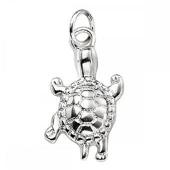 Begynnelse Sterling sølv P4455 Turtle anheng