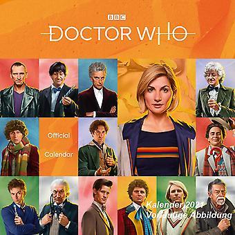 Doctor Who Calendar 2021 Classic Edition Officiële Kalender 2021, 12 maanden, originele Engelse versie.