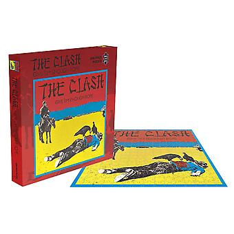 The Clash Jigsaw Puzzle Give Em Enough Rope Album Cover new Official 500 Piece