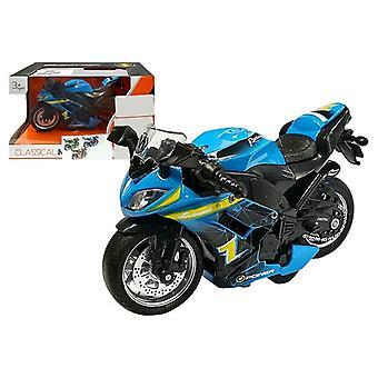 Športový motor so zvukmi 1:14 Modrá