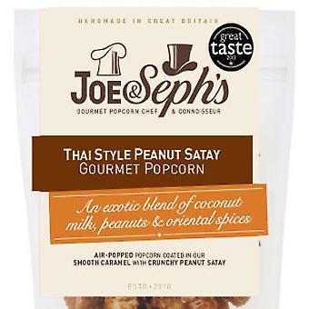 Thai Style Peanut Satay Popcorn
