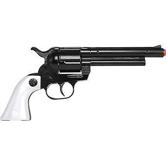 CAP GUN  - 121/6 - Gonher Cowboy 12 Shots Black/Pearl Grip