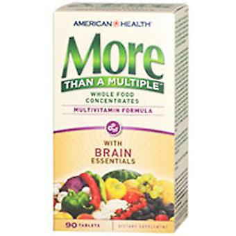 American Health mere end en flere tabletter, Brain Essentials 90 TABS