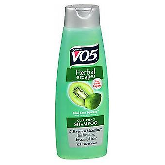 Vo5 Herbal Escapes Clarifying Shampoo, 12.5 Oz, Kiwi Lime Squeeze