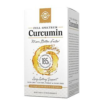Solgar Full Spectrum Curcumin, 90 Softgels