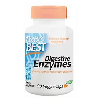 Doctors Best Digestive Enzymes, 90 Veg Caps
