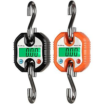 150kg 50g Durable Digital Hanging Hook Scale Crane Balance LED Backlight