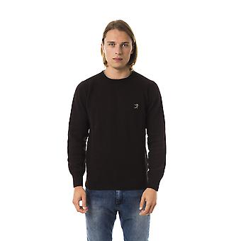 Uominitaliani Moro Crew Neck Brown Sweater