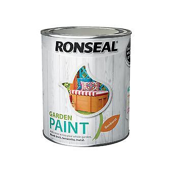Ronseal Garden Paint Sunburst 750ml RSLGPSB750