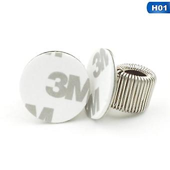 Single/double/triple Hole, Metal Spring Pen Holder With Pocket, Clip Doctors