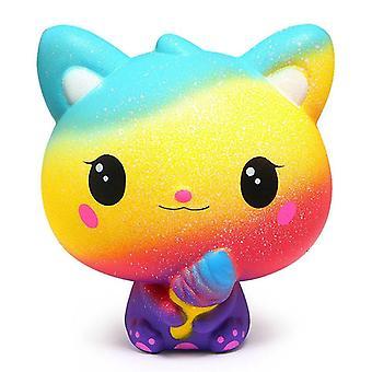Mode Cartoon Kawai Katze, Einhorn Squishy langsam steigende Creme, duftende Exquisite