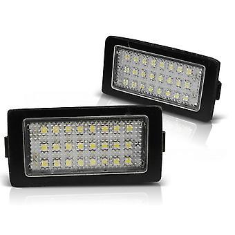 Illuminazione targa LED BMW E38 LED CANBUS