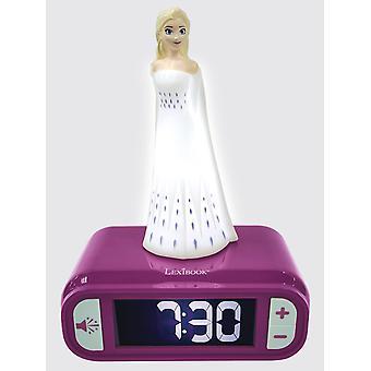 Disney Frozen 2 Elsa nat lys vækkeur