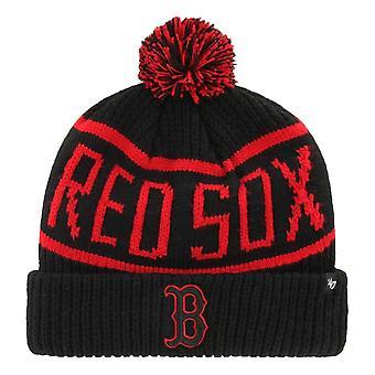 47 Brand Calgary Boston Red Sox Beanie - Black