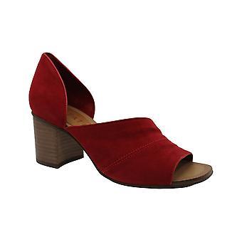 1. Staat Frauen's Schuhe Gretta Leder offene Toe D-Orsay Pumpen