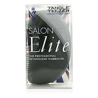 Tangle Teezer Salon Elite Professional Detangling Hair Brush - Midnight Black (For Wet & Dry Hair) 1pc