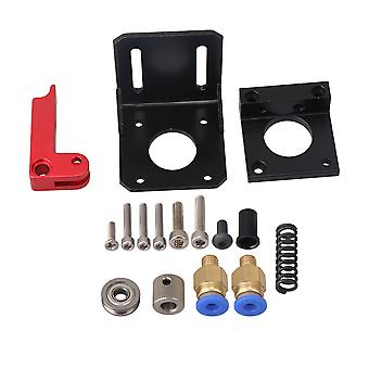 1.75mm Filament Extruder Aluminum Block Kit Right 3D Rinter and Bracket