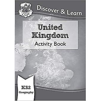 Novo KS2 descubra & aprender: Geografia-Reino Unido atividade livro