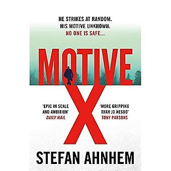 Motiv X (en Fabian Risk thriller)