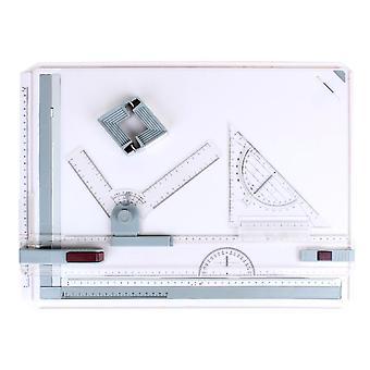 Tekeningsbord voor architect, liniaaltafel, verstelbare hoek, tekengereedschap voor kunst