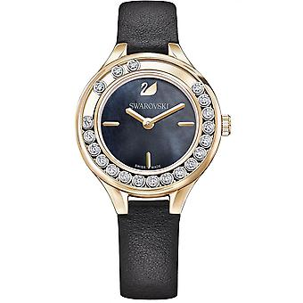 Relógio 5301877 Swarovski - cristais de couro violeta mulher