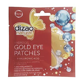 Hydrogel Gold Hyaluronic Acid Eye Contour Patches 28 g