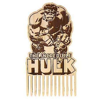 Uskomaton Hulk puinen partakampa