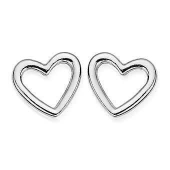ChloBo SEST532 Women's Open Heart Earrings